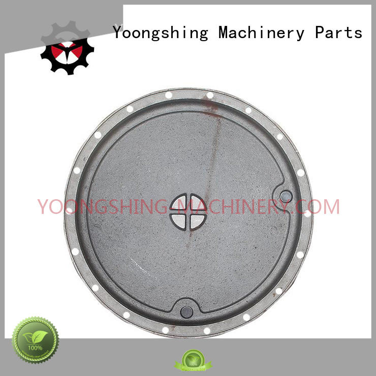 Yoongshing Machinery Parts gearbox cover design for construction machine