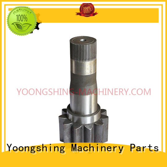 Yoongshing Machinery Parts top quality gear shaft design for vehicle