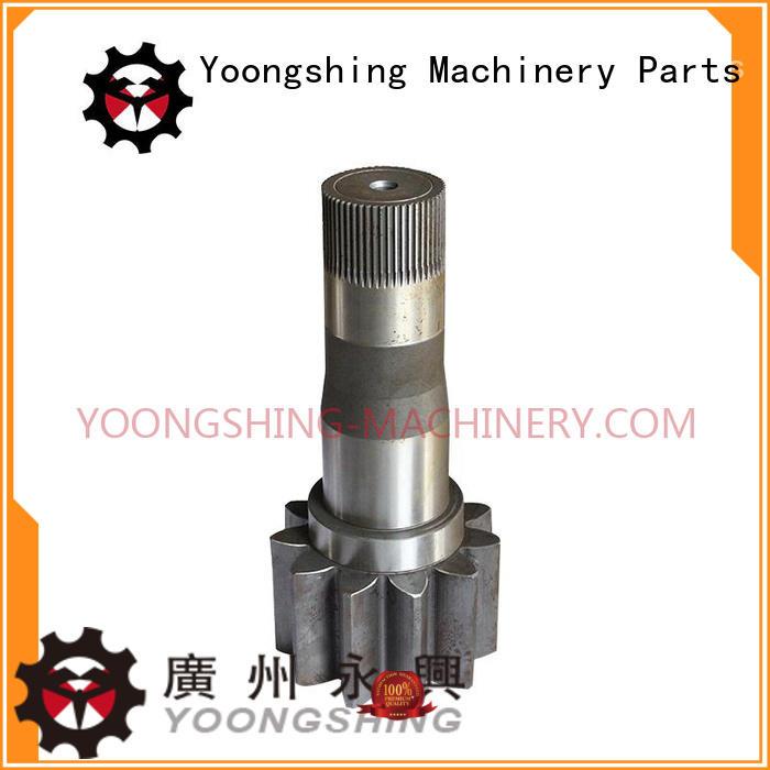 Yoongshing Machinery Parts pinion shaft design for construction machine