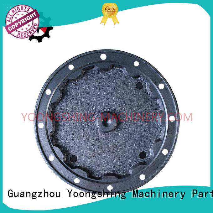 Yoongshing Machinery Parts excellent gearbox cover design for construction machine